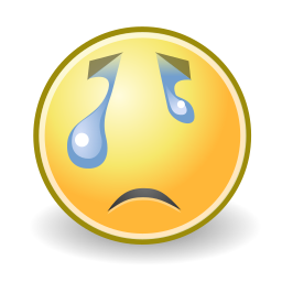 crying, face icon