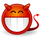 devilish, face icon