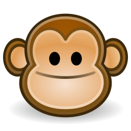 face, monkey icon