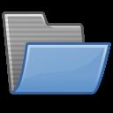 folder, open