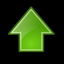 go, up icon