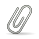 attachment, mail icon