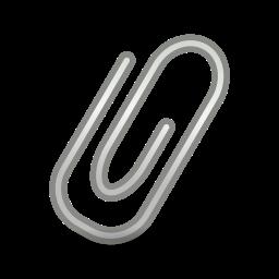 attachment, mail icon