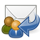 all, mail, reply icon