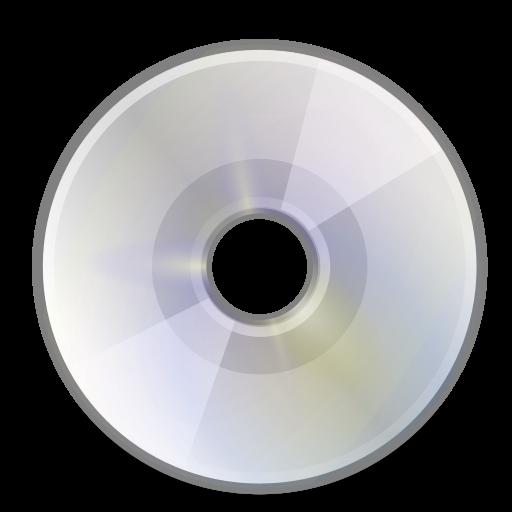 media, optical icon