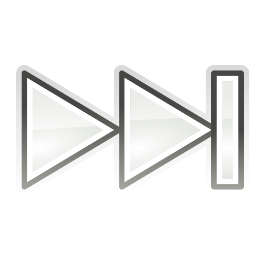 forward, media, skip icon