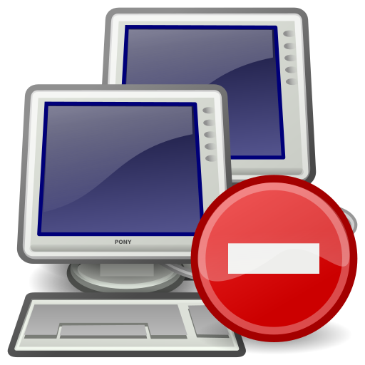 error, network icon