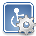 assistive, desktop, preferences, technology icon