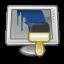 desktop, preferences, wallpaper icon