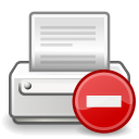 error, printer icon