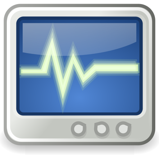 monitor, system, utilities icon