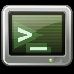 terminal, utilities icon