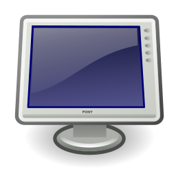 display, video icon
