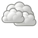 overcast, weather icon