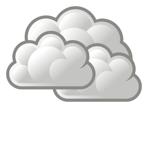 overcast, weather icon