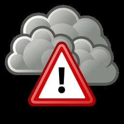 alert, severe, weather icon