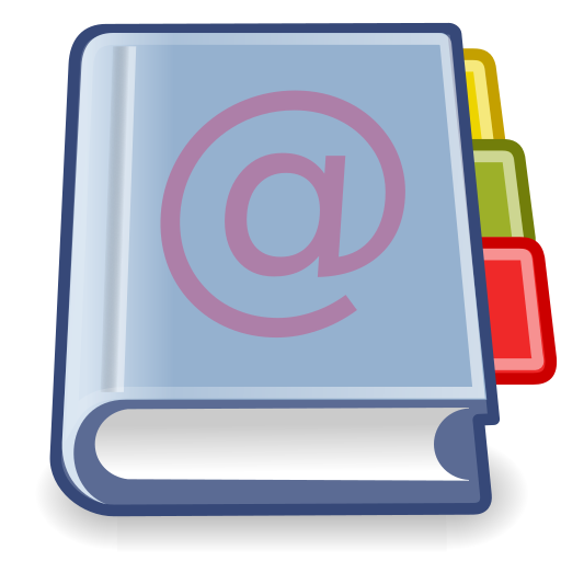 address, book, office icon