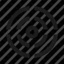 circle, mark, target, triple