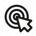 cursor, focus, target icon