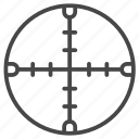 aim, crosshair, focus, goal, target, archery, bullseye