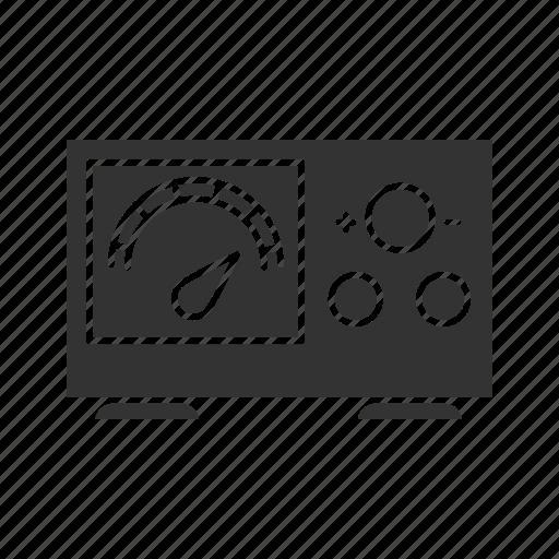 Electrical Equipment Machine Meter Power Tattoo Voltage Icon