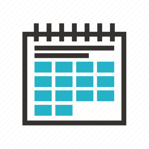 business, economy, finance, money, payment, schedule, tax icon