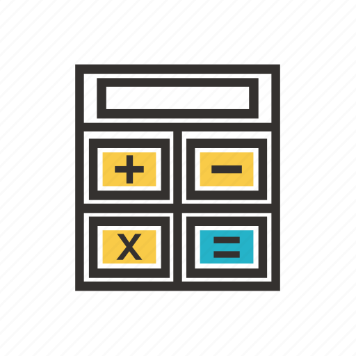 accountant, business, calculator, economy, finance, payment, tax icon