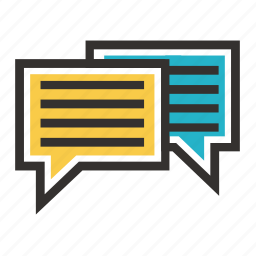 business, chat, conversation, economy, finance, payment, tax icon
