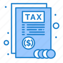 document, report, tax