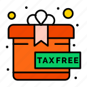 free, gift, present icon