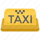 cab, public transport, taxi, taxi sign, taxicab icon