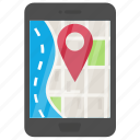 android map, gps app, gps navigation, map application, navigation app icon