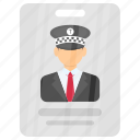 chauffeur license, commercial driver, driver's license, driving license, driving permit icon
