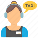cab service, call center, call taxicab, taxi call, taxi service icon