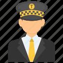 cab driver, cabman, chauffeur, chauffeur service, driver icon