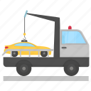 illegal parking, impounded car, impounded taxi, towing vehicle, vehicle impoundment icon