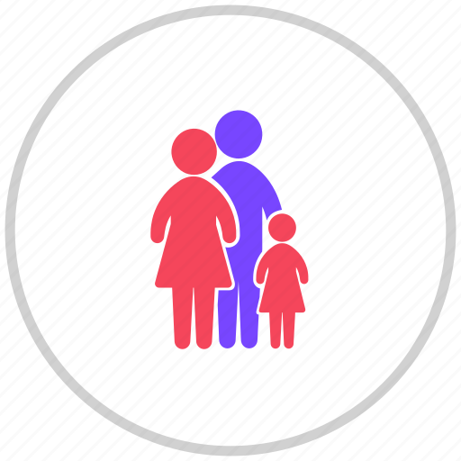 and, family, parenting icon