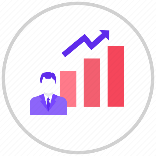 finance, money, statistics icon