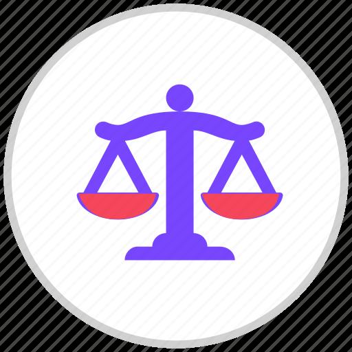 govtandpolitics, law, weights icon
