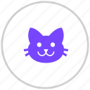 cat, pet, pets icon