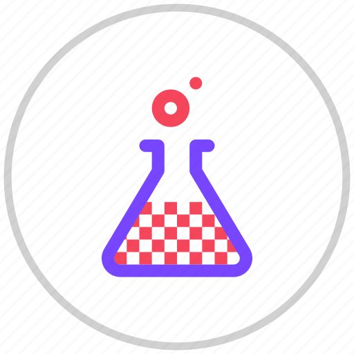 experiment, lab, science icon