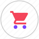cart, shopping, shoppingcart icon