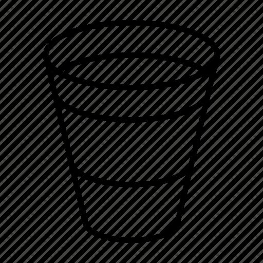 beverage, glass, iced, plastic, tea icon
