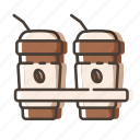 beverage, cafe, coffee, cup icon