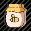 bee, food, honey, sweet icon