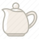 jar, jug, kettle, pitcher, tea, tearoom, yumminky icon