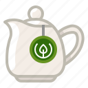 jar, leaching, pitcher, tea, tea bag, tearoom, yumminky icon