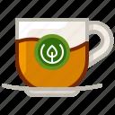 cup, drink, glass, tea, tea house, tearoom, yumminky icon