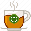 cup, drink, glass, hot, tea, tearoom, yumminky icon