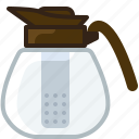 jar, jug, pitcher, sifter, tea, tearoom, yumminky icon